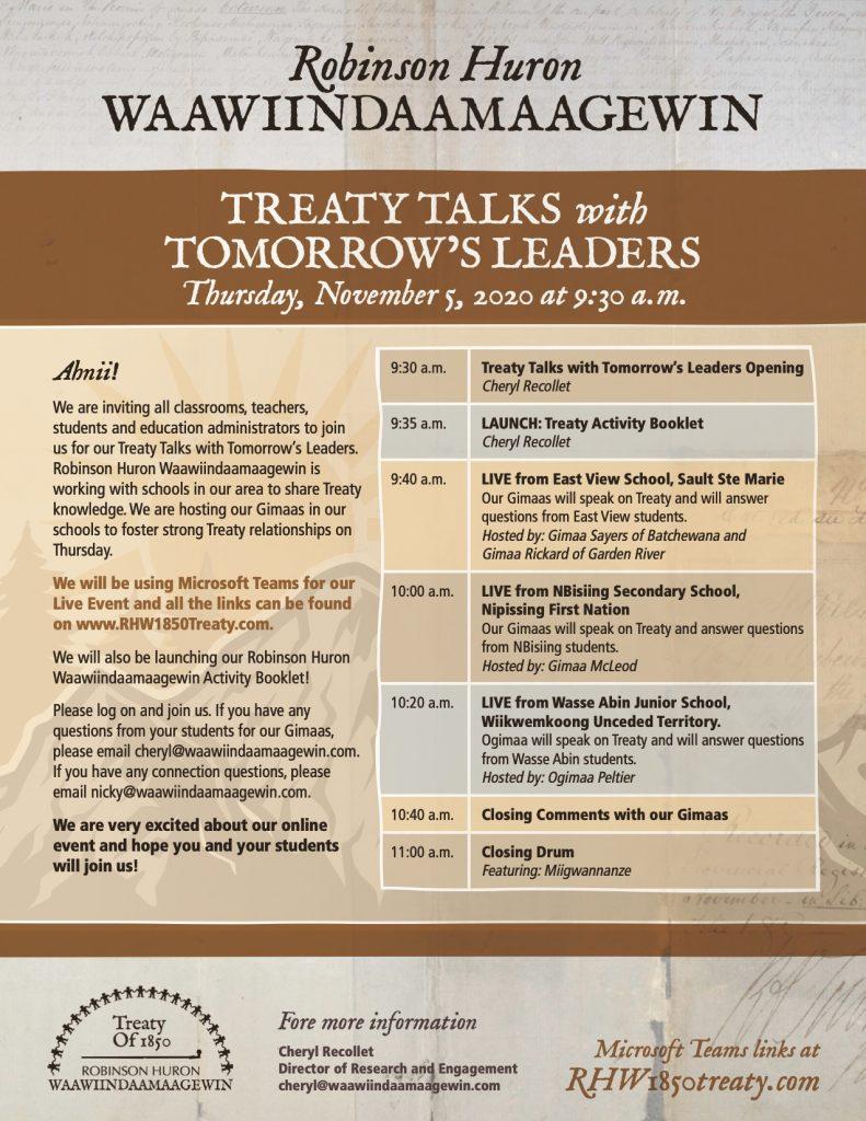 Treaty Week Poster
